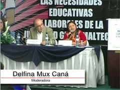 Foro: 'La Cooperación Internacional ante el desafío de apoyar a Guatemala para formar su juventud'